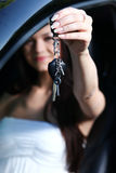 New car keys Royalty Free Stock Images