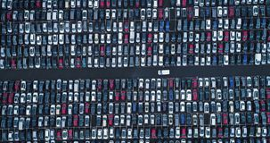 Free New Car Park And Truck Stock Images - 104843324
