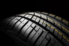 New car the pattern of rubber, close, detail Royalty Free Stock Photo