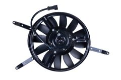 Free New Car Radiator Cooling Fan On White Background Stock Photo - 199370800