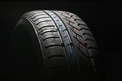 New car tire close up Stock Photography