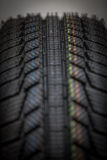 New car tire Stock Images