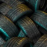 New car tire Royalty Free Illustration