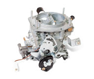New carburettor on white Stock Photography