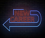 New career concept. Stock Photos