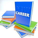 New Career. Tutorial abstract concept Royalty Free Stock Photo