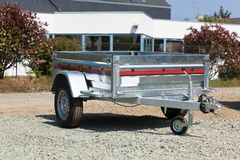New cargo cart Stock Photos