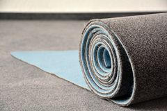 A new carpet Stock Images