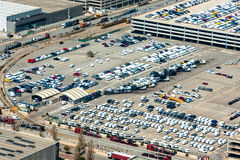 New Cars Parking Stock Photo