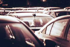 New Cars Royalty Free Stock Photography