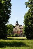 New castle in Bad Muskau Stock Images