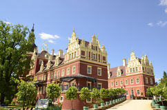 New castle in Bad Muskau royalty free stock images