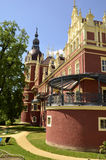 New castle in Bad Muskau Royalty Free Stock Photos