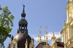New castle in Bad Muskau Stock Photo