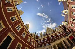 New castle in Bad Muskau Royalty Free Stock Photo