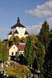 New Castle in Banska Stiavnica Stock Photos
