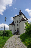 New castle in Banska Stiavnica Royalty Free Stock Photos