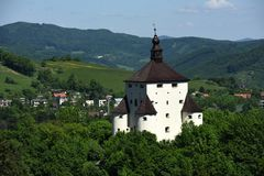 New Castle, Banska Stiavnica, Slovakia, UNESCO Royalty Free Stock Photo