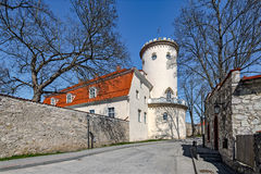 New Castle in Cesis, Latvia Stock Image