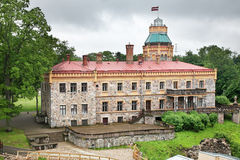 New Castle in Sigulda. Latvia Royalty Free Stock Images