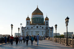 The new Cathedral of Christ the Saviour Royalty Free Stock Photos