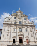 New cathedral, Coimbra Royalty Free Stock Images