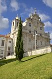 New cathedral Coimbra Royalty Free Stock Photo
