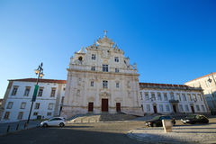 New Cathedral of Coimbra Royalty Free Stock Image