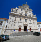 New Cathedral of Coimbra Royalty Free Stock Photos