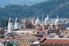 New cathedral of Cuenca, Ecuador Stock Images