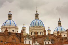 New Cathedral Cuenca Ecuador Royalty Free Stock Photo