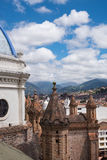 New Cathedral in Cuenca Stock Photo