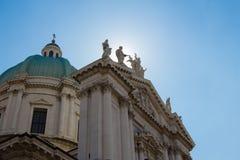 New Cathedral facade, Brescia Stock Photography