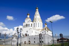 New cathedral at Minsk. the Church of All Saints Stock Photos