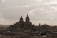 New Cathedral , one of the two cathedrals of Salamanca, Spain. Stock Photo