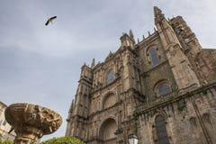New cathedral Plasencia, Caceres stock photos