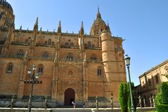 The New Cathedral in Salamanca Royalty Free Stock Photography