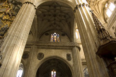 New Cathedral of Salamanca Royalty Free Stock Photos
