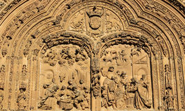 New Cathedral of Salamanca - Adoration by the Magi Stock Photography