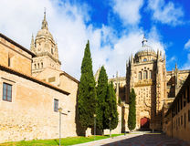 New Cathedral of Salamanca Royalty Free Stock Images