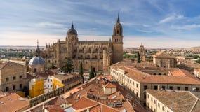New Cathedral of Salamanca Royalty Free Stock Photo