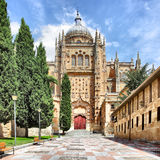 New Cathedral in Salamanca Stock Photo