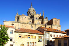 New Cathedral. Salamanca Stock Photos