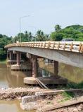 New cement bridge Royalty Free Stock Photo
