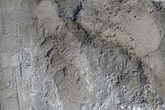 New cement on the old wall. Grunge texture background Royalty Free Stock Image