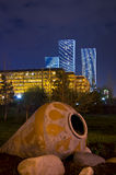 New center of the city in Astana Stock Images