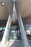 New central railway Station in Vienna Royalty Free Stock Image
