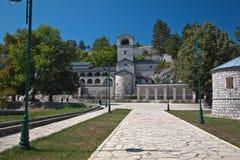 New Cetinje monastery, Montenegro. View on the New Cetinje monastery, Montenegro Royalty Free Stock Image