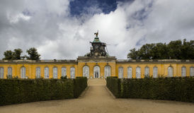 New Chambers in Sanssouci park in Potsdam Stock Photos