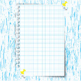 New chart paper Stock Photography